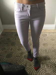 DKNY Skinny Jeans, Lavender, size02