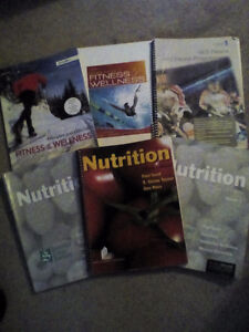 6 Fitness and Nutrition textbooks