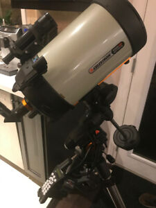 "Celestron EdgeHD 8"" AVX telescope package ++ accessories, unused"