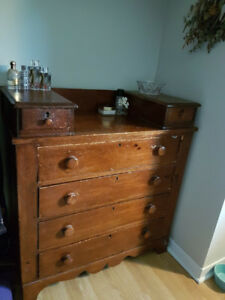 Antique Mahogany Dresser