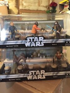 Star Wars 2004 complete scene 1 & 2 Mos Eisley  Cantina.