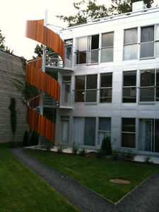 Beautiful Modern Building Plateau Mont Royal for Rent