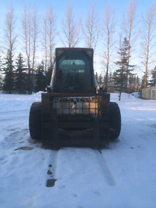 2003 bobcat with 5 attachments
