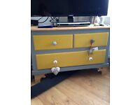 TV cabinet or small chest of drawers
