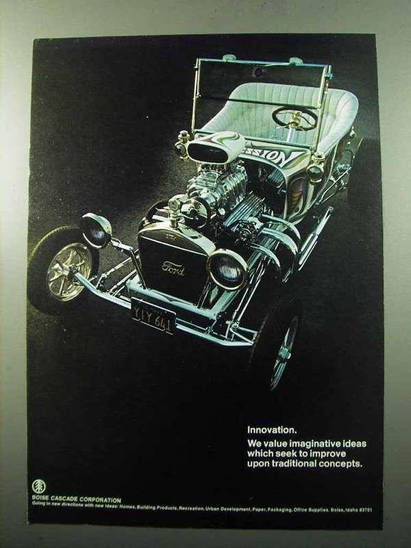 1969 Boise Cascade Ad - Innovation