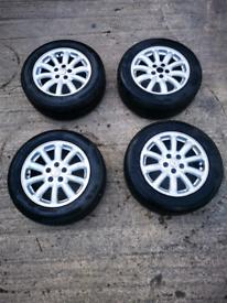 Jaguar Spirit Alloys Wheels X4