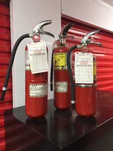 Flag ABC Dry Chemical Class A B C Fire Extinguisher