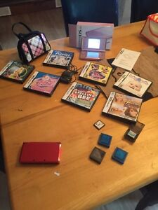 Pink ds and red 3DS with lots of games  Kawartha Lakes Peterborough Area image 1