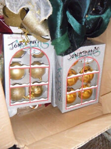 Christmas Decorations ,Ornaments.lights,bows
