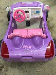Barbie electric kids car