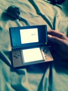 Nintendo DS + games and case