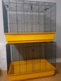 2 Rat Cages
