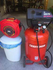 Sears oil free air compressor 6hp / 30gallon / 150Psi