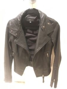 Aritzia Mackage Kenya leather jacket size XXS