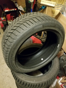 """Oem Lexus 17"""" with Continental WinterContact S1 tires 225/45/17"""