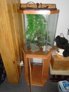 Aquarium 30 gal. pour eau douce ou salée