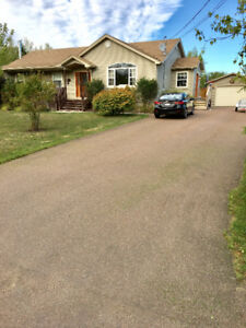 beautifully landscaped mature lot  with 3000 sf. of living space