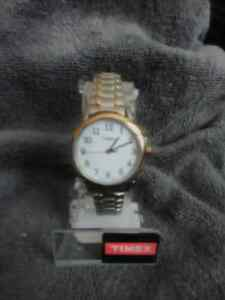 Gold&Silver Timex Watch BRAND NEW