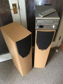 Denon Stereo with Mission Speakers