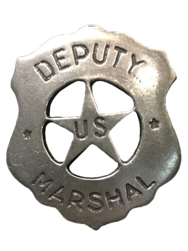 NWT Replica Badge - Old West - Made in the USA - Deputy U.S. Marshall Historic