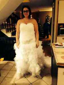 Wedding dress 18w to 20w