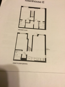 3 private Bedrooms, brand new townhome near UOIT/Durham College