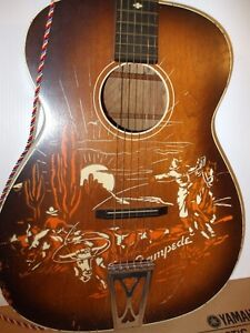 Vintage Harmony Guitar - Stampede 1956