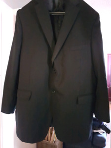 Men's black Moore's suit jacket sz xxl or 48