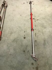 Light recovery tow pole