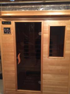 Infrared 3 person sauna