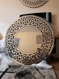 Large Mirror NEW BOXED RRP £299 Julien Macdonald Mantle Mirror 100cm