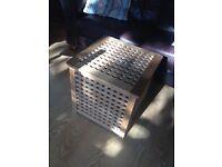 IKEA wood storage box / side table