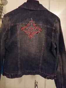 6 Beautiiful Leather Jackets, 2 Jean Jackets Kitchener / Waterloo Kitchener Area image 9