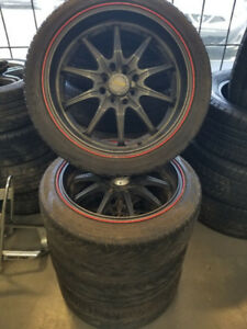 4 Mags Fast 17po universelles 4x100-4x114.3