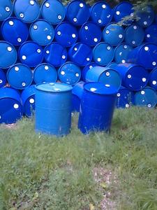 45 gallon plastic barrels