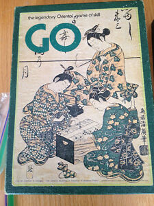 GO - The Legendary Oriental Game of Skill - Vintage