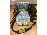 Munchkin booster seat/ travel seat. Great condition