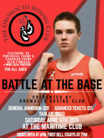 Live Boxing-Oromocto-APRIL 6