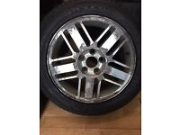 Ford ficus ghia 16inch alloy wheels 5/108 Mondeo transit connect