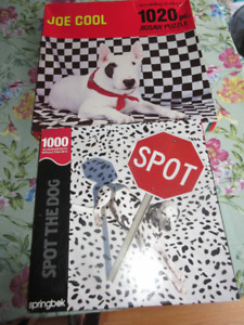 2 Vintage dog puzzles - Bull Terrier/ Dalmation Both unopened