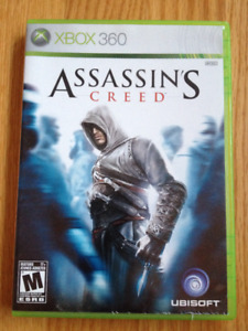 Assassins Creed XBOX 360 game w. case/manual (Assasin's)