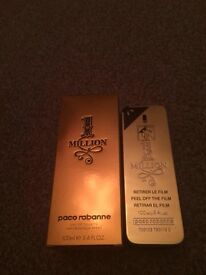 Paco rabanne 1 million men's aftershave