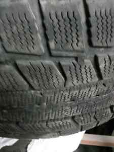 Snow tires and rims for mercedes car
