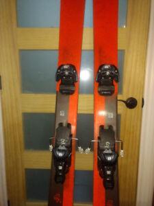 Ski salomon rocker