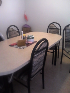 Tv stand, table n chairs, dressers, lamps,