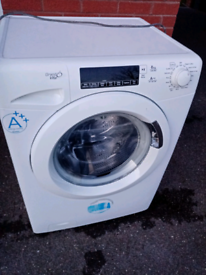 A+++ 8kg 1600 spin Candy washing machine