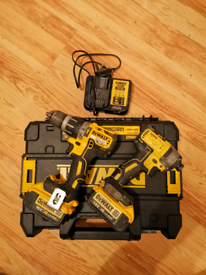 Dewalt brushless impact and combi drill