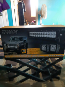 led bar 3 pack for jeep