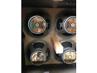 Marshall 4X12 Cabinet with Celestion Anniversary Speakers