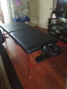 Massage Table & Stool